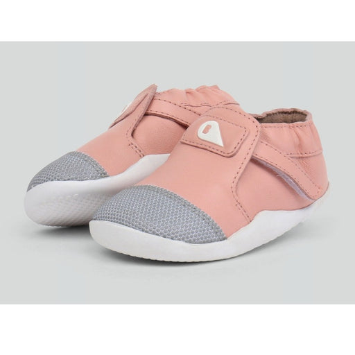 Bobux - Baskets cuir souple Step Up Xplorer - Blush