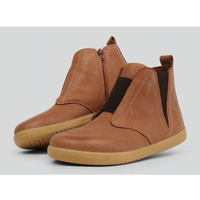 Bobux - Bottines cuir souple Kid+ Signet - Caramel