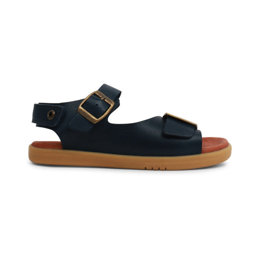 BOBUX - Chaussures cuir souple Kid+ Soul - Navy