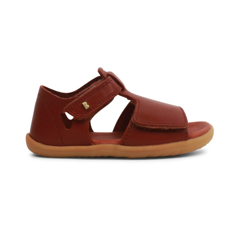 BOBUX - Chaussures cuir souple Step Up Mirror - Chestnut