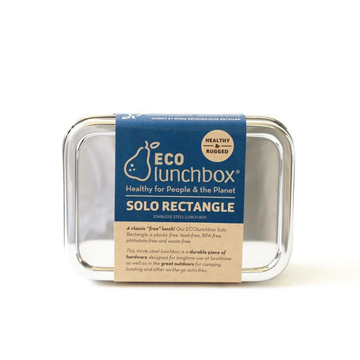 ECOLUNCHBOX - Boîte à lunch Solo Rectangle