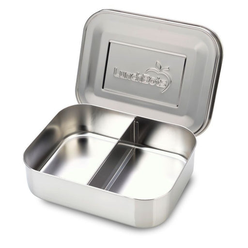 LUNCHBOTS - Boîte inox 2 compartiments - Stainless