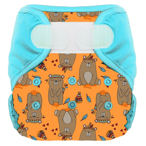 Bum Diapers - Couche lavable bio Edgar l'Ours