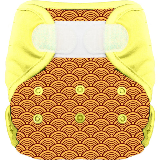 BUM DIAPERS - Couche lavable bio Sekaï Moutarde