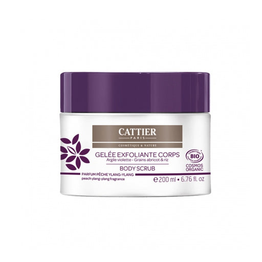 Cattier - Gelée exfoliante corps bio - 200 ml