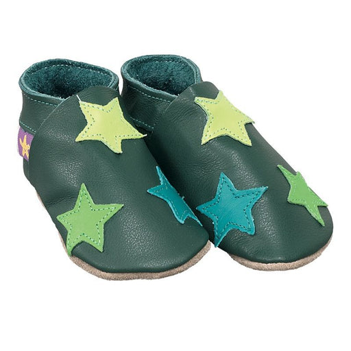 STARCHILD - Chaussons cuir souple - Stars Forest