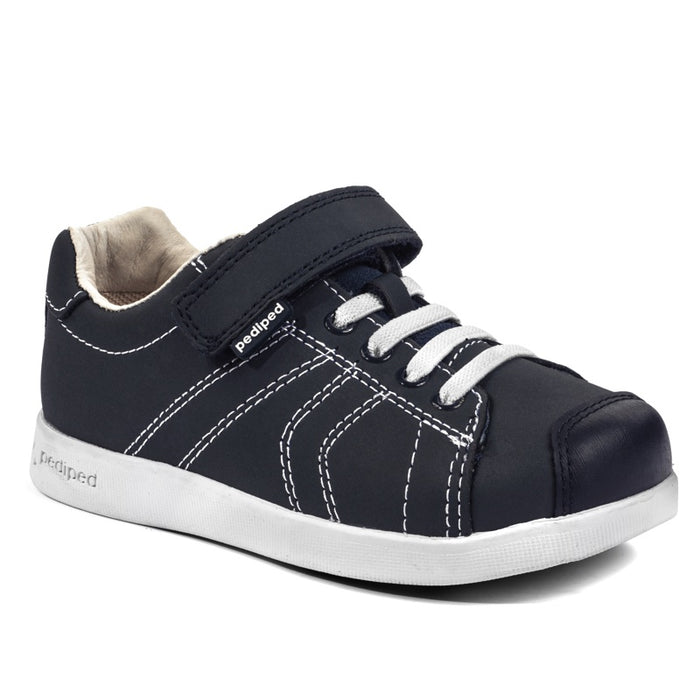 PEDIPED - Chaussures en cuir souple Pediped Flex jake - Navy