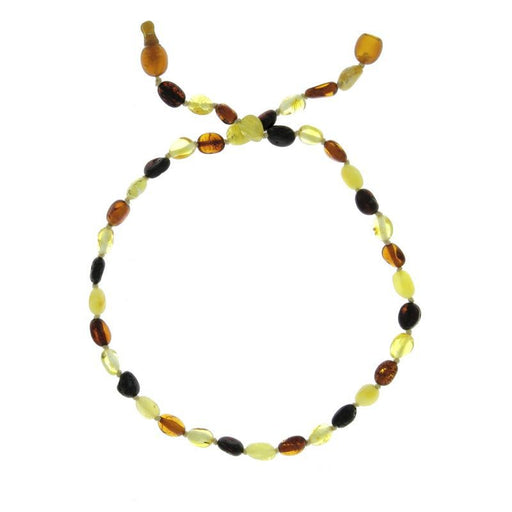 BALTICWAY - Collier enfant Ambre olives mix