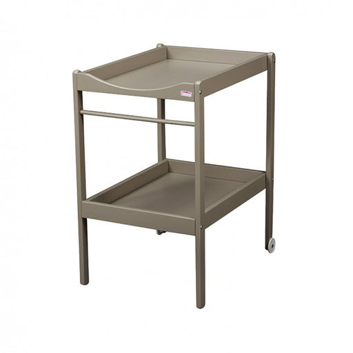 Combelle Table A Langer Alice Bois Massif Laquee Gris Clair