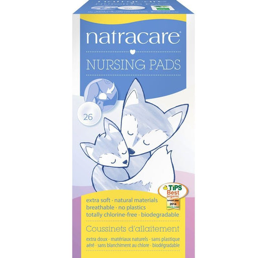 NATRACARE - Coussinets d'allaitement jetables Natracare