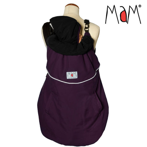 MAM - Couverture de portage réversible MaM Deluxe Flex - Grape Black