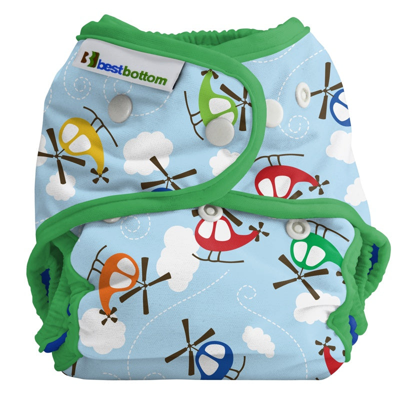 BEST BOTTOM DIAPER - Culotte de protection à pressions TE2 - Chopper