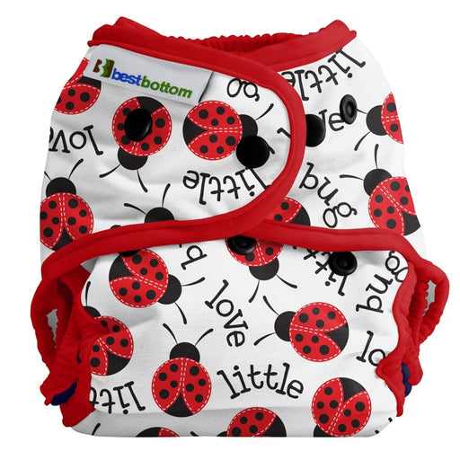 BEST BOTTOM DIAPER - Culotte de protection à pressions TE2 - Little Love Bug