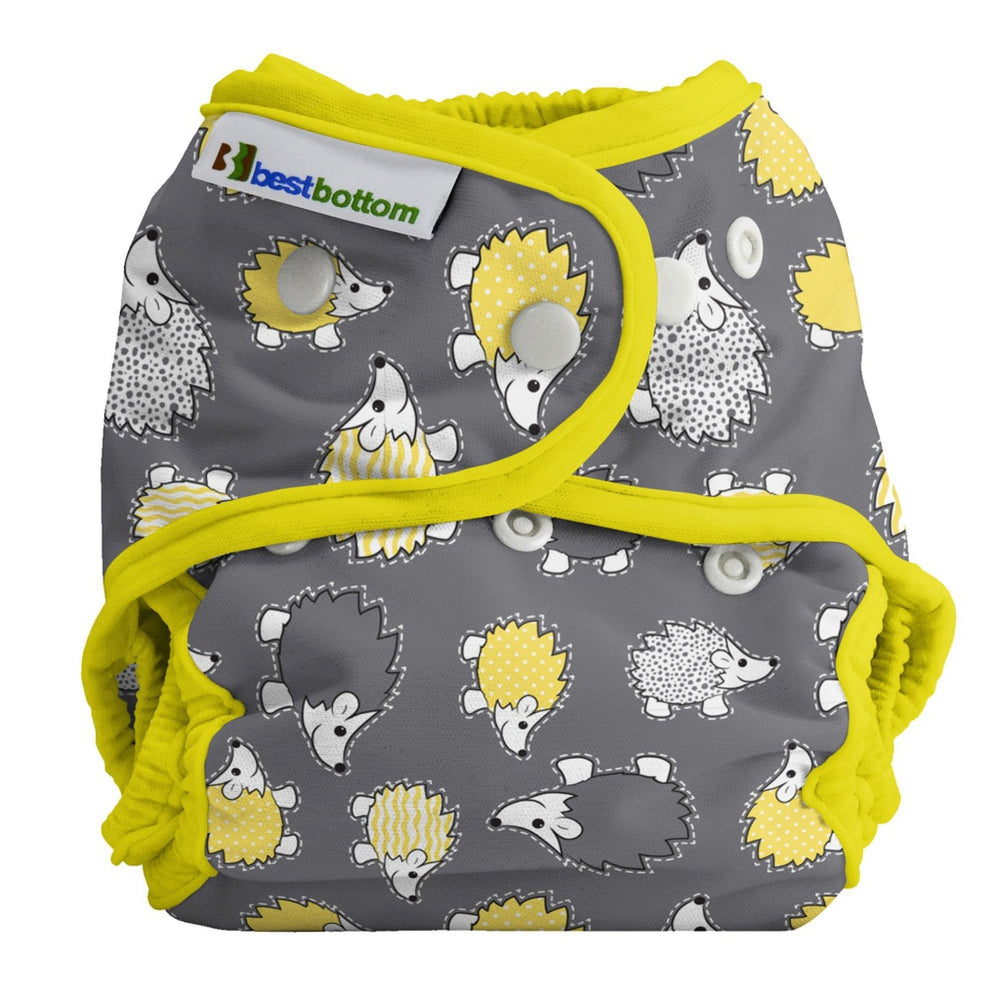 BEST BOTTOM DIAPER - Culotte de protection à pressions TE2 - HEDGEHOG