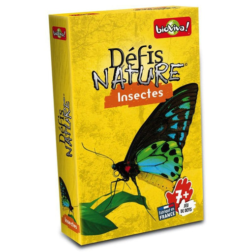 BIOVIVA - Défis Nature - Insectes
