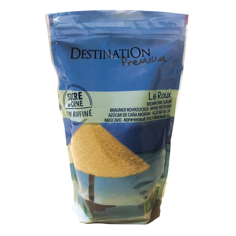DESTINATION - Sucre de Canne Roux bio 1 kg