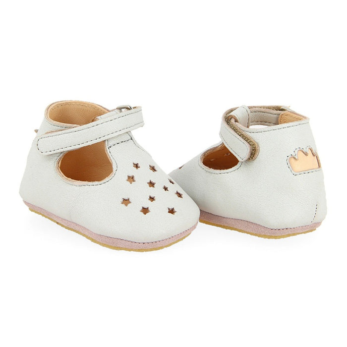 EASY PEASY - Chaussons salomés en cuir Lillop - Inwi