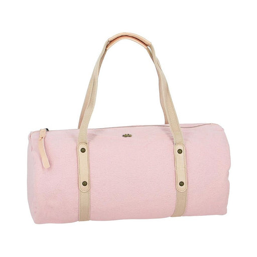 EASY PEASY - Sac bowling Duffynette coton bio - Rose baba