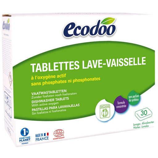 Ecodoo - Tablettes Lave-vaisselle hydrosolubles