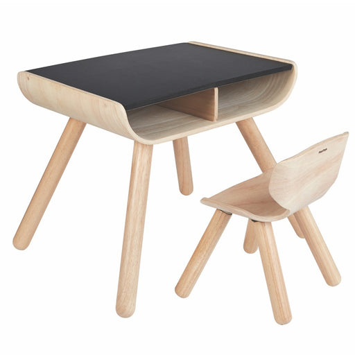 PLANTOYS - Ensemble Table et chaise en bois