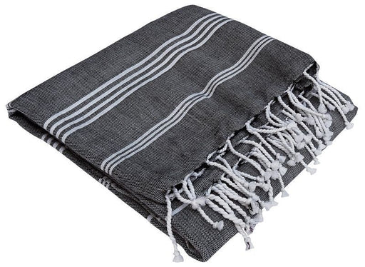 KARAWAN - Fouta en coton Bio Collection Hammam 100 x 200 cm