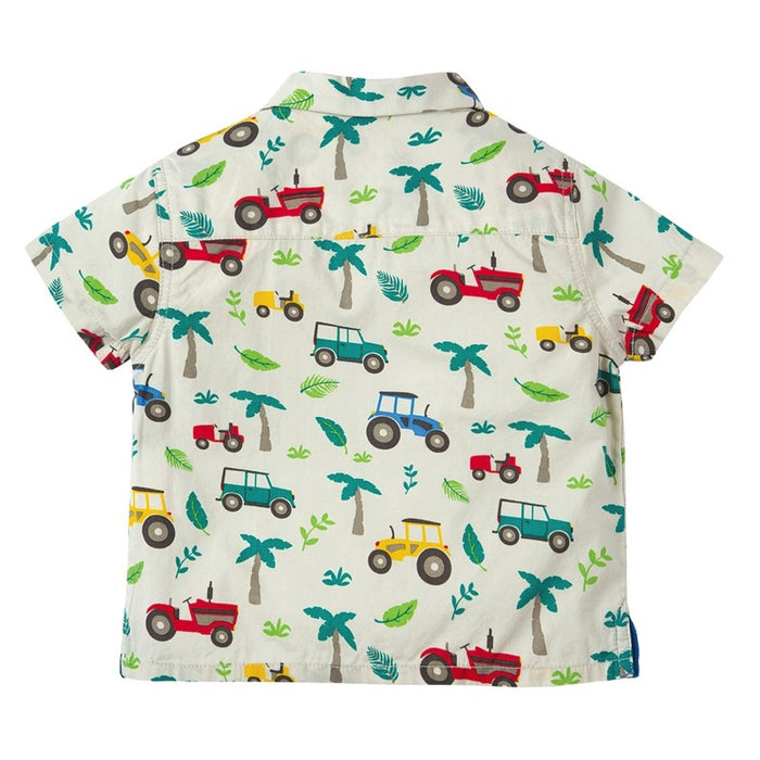 FRUGI - Chemise Harvey Hawaiian coton bio - Tropical Tresco