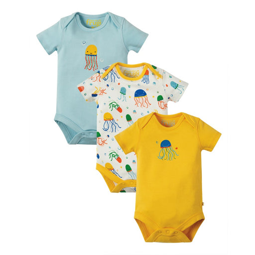 FRUGI - Lot de 3 bodies manches courtes coton bio - Jazzy Jellies