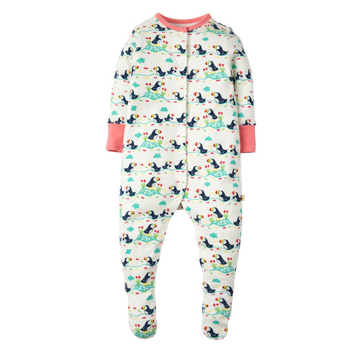 FRUGI - Pyjama Lovely coton bio - White Puffin Parade