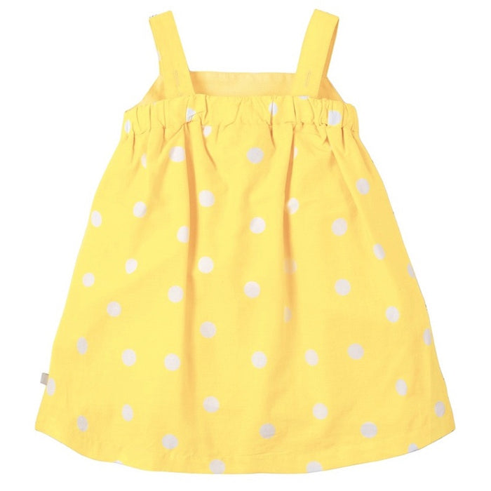 FRUGI - Robe Jess Party coton bio - Sunshine Polka Dot Ice Cream