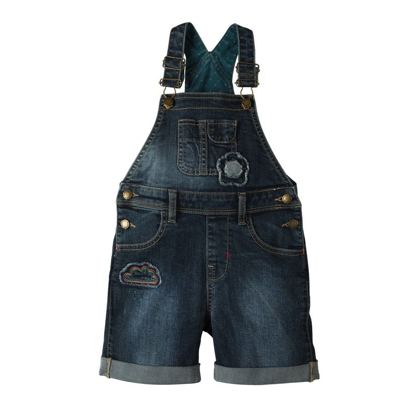 FRUGI - Salopette en jean Daisy bio - Light Wash Denim