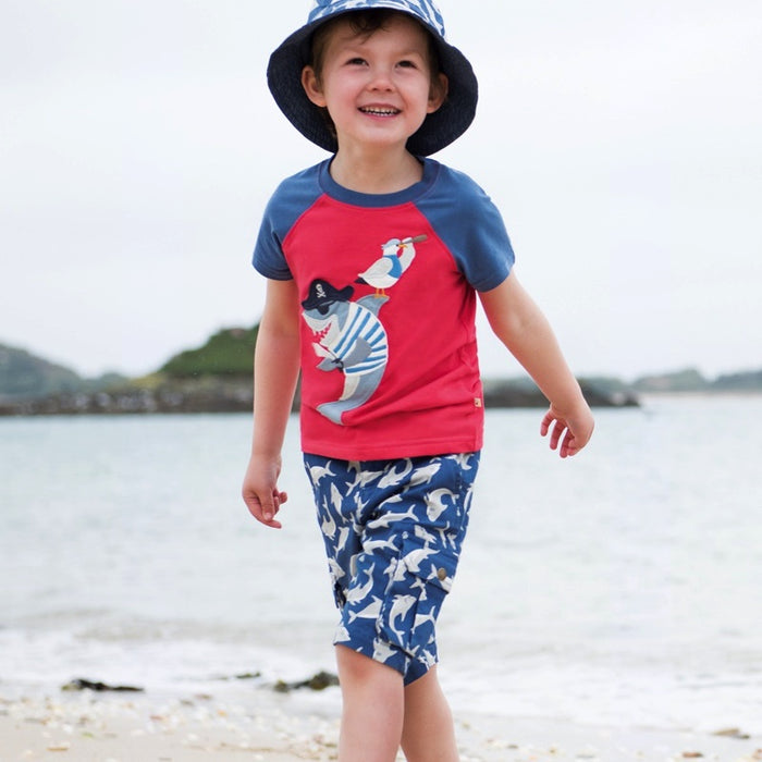 FRUGI - Short Explorer coton bio - Scilly Shark School