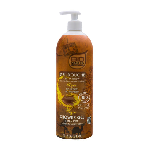 BIO SEASONS - Gel douche extra doux bio seasons - Argan