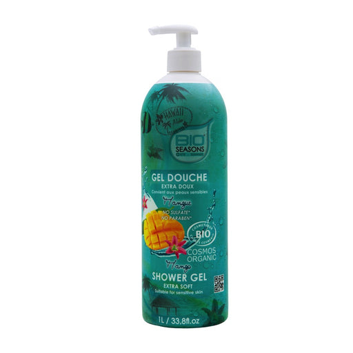 BIO SEASONS - Gel douche extra doux bio seasons - Mangue