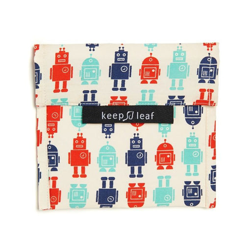 KEEP LEAF - Grand Baggie réutilisable - Robot