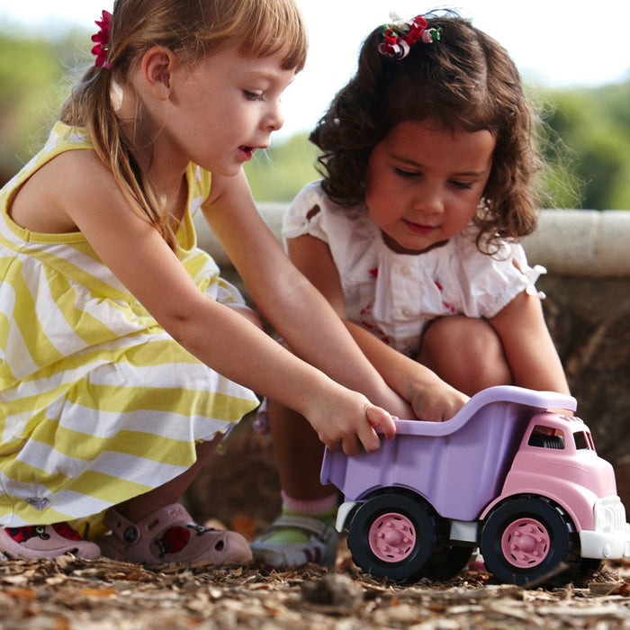 Green Toys - Camion-citerne rose