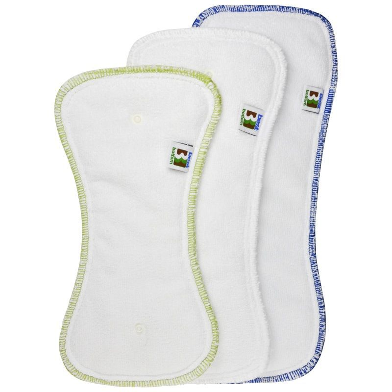 BEST BOTTOM DIAPER - Booster nuit - Microfibre