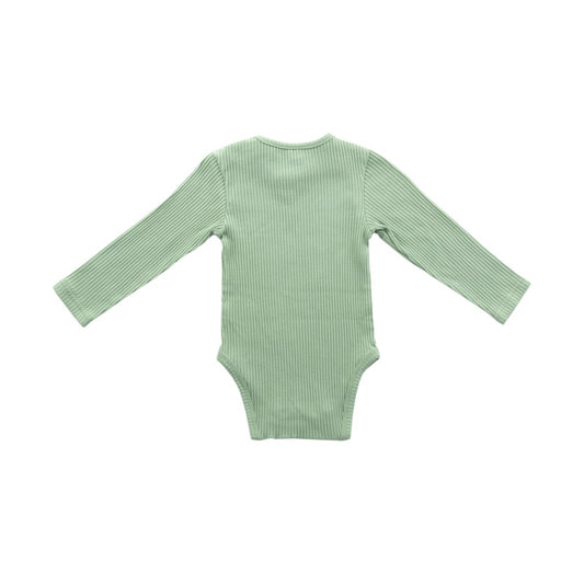Jollein - Body manches longues bio - Rib forest green
