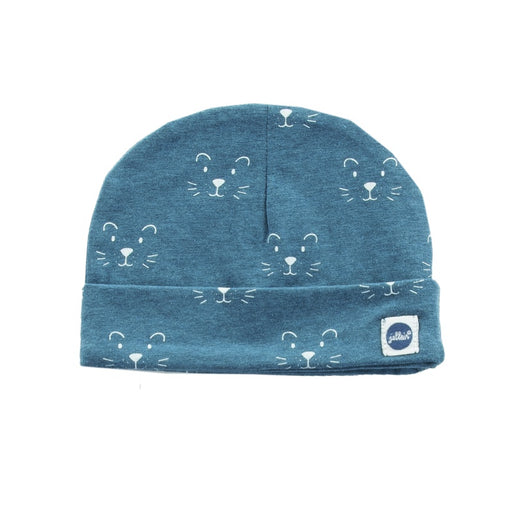 Jollein - Bonnet coton bio - Little lion teal