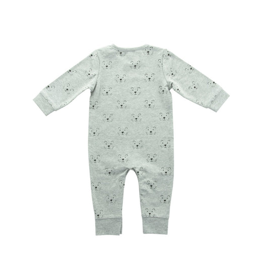 Jollein - Combinaison coton bio - Little lion grey