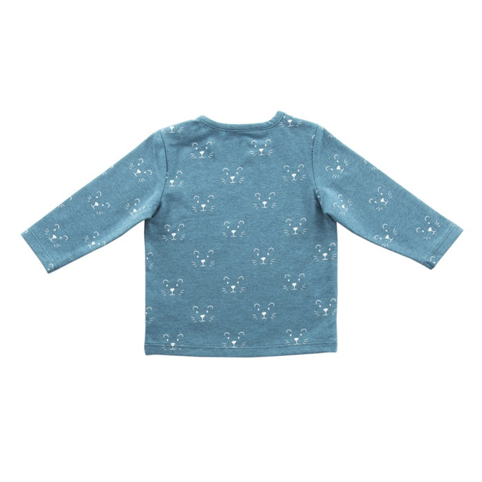 Jollein - T-shirt manches longues coton bio - Little lion teal