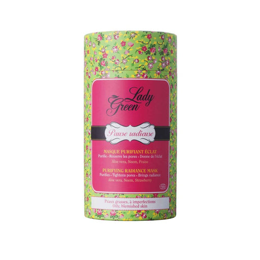 Lady Green - Pause Radieuse Masque purifiant Eclat bio
