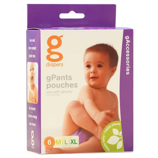 GDIAPERS - 6 poches supplémentaires - gPant pouch