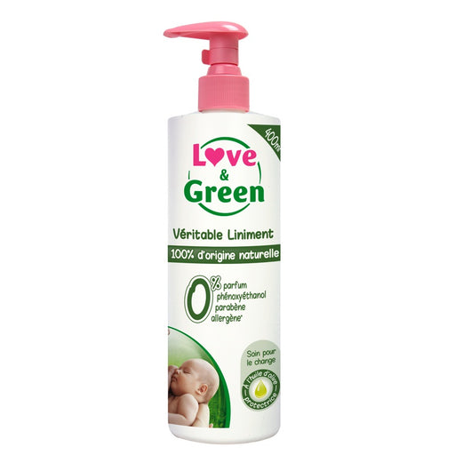 Love and Green - Véritable liniment hypoallergénique 0% 400 ml