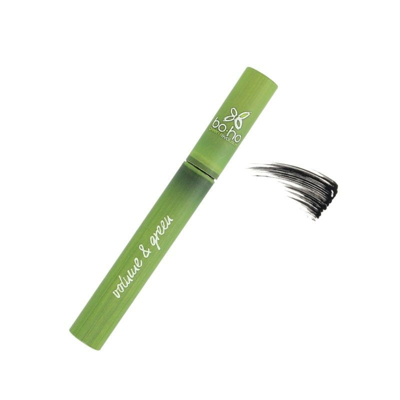 BOHO GREEN MAKE UP - Mascara Volume and green bio Noir