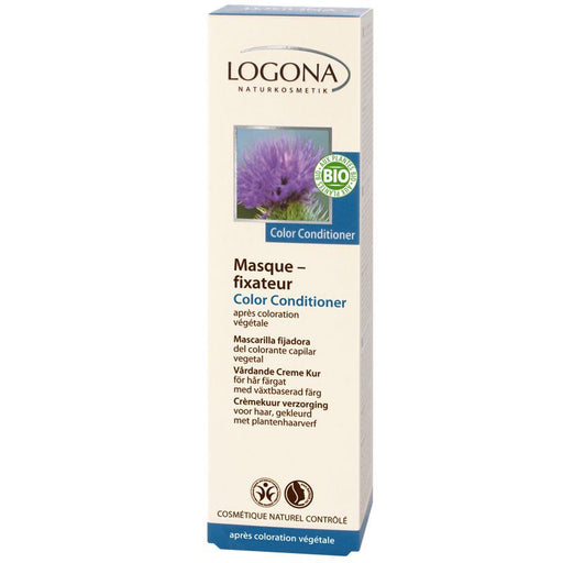 LOGONA - Masque fixateur coloration bio Color conditioner