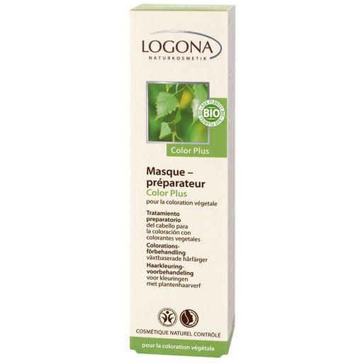 LOGONA - Masque préparateur coloration bio Color plus
