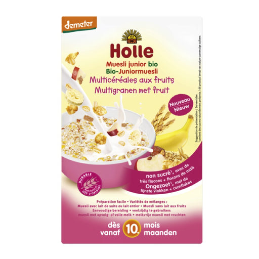 HOLLE - Muesli junior bio Multicéréales aux fruits