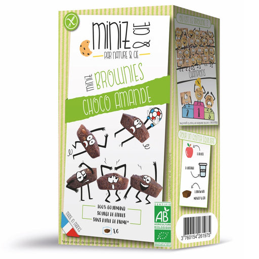 NATURE ET CIE - Miniz Brownies Choco Amande bio
