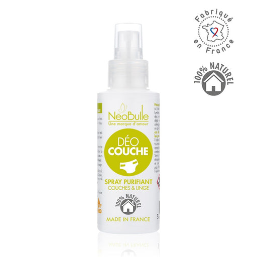 NEOBULLE - Déo couche Spray purifiant couches et linge bio