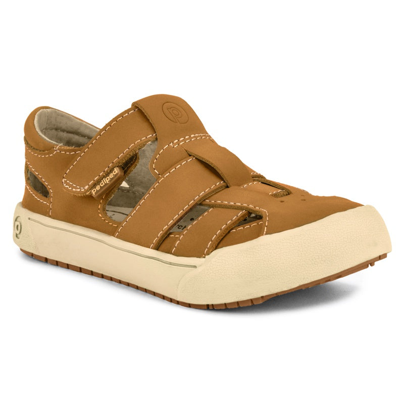 PEDIPED - Chaussures cuir souple Flex Mark - Tan